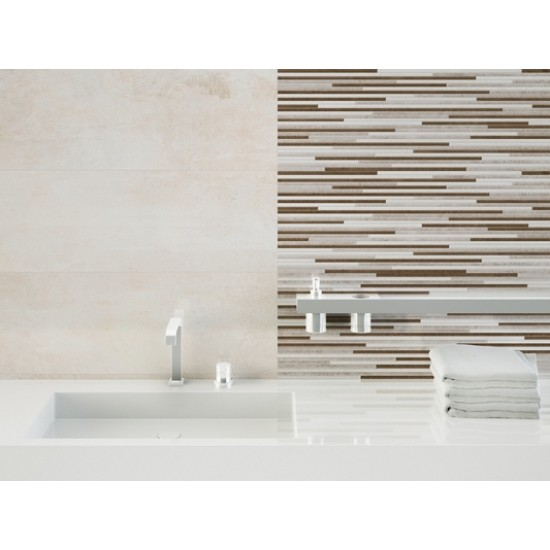 Brio Crema 45CMx90CM Large Format Tile Wall and Floor