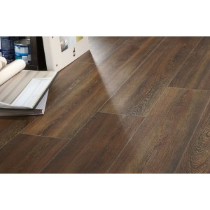 Wengue Brown 15x60 Wood Effect Kitchen, Hallway, Conservatory and Bathroom Wall And Floor Tile