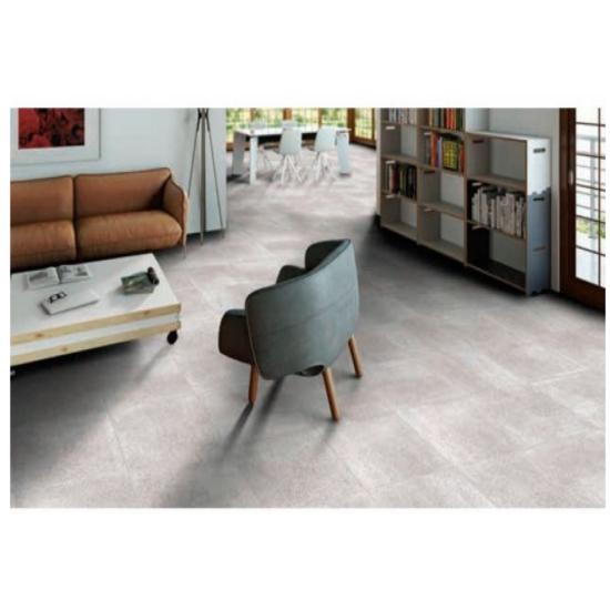 Clayte Grey Glazed Porcelain 30CMx60CM Kitchen And Bathroom Wall And Floor Tile