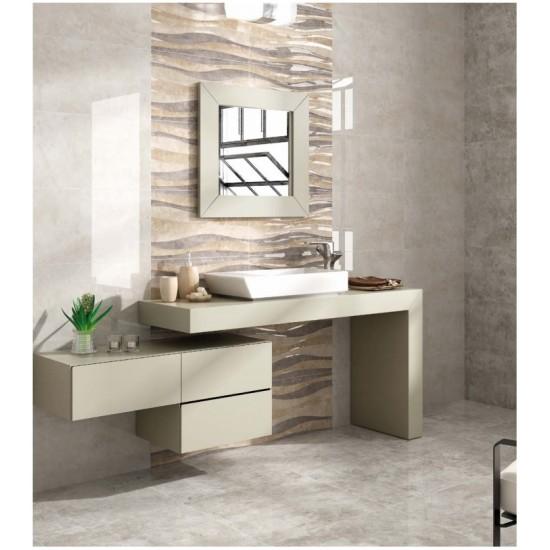 South Pearla Ceramic Gloss 33CMx55CM Kitchen And Bathroom Wall Tile
