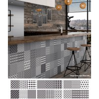 Vintage Modern Mosaico 20CMx60CM Random Pattern Kitchen And Bathroom Wall Tile
