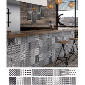 Vintage Modern Mosaico 20CMx60CM Random Pattern Kitchen And Bathroom Wall Tile