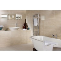 Polarno Marfil Gloss ceramic Multi Use Kitchen And Bathroom Wall And Floor Tile 30x60