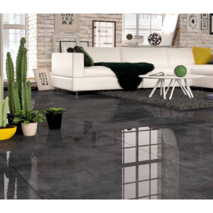 Norient Grafito Rectified Large Format HIGH GLOSS Kitchen And Bathroom Wall And Floor Glazed Polished Porcelain 80CMx80CM Tile