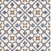 Brighten Blue 45CMx45CM Pre-Cut Porcelain Wall And Floor Feature Tile