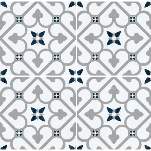 Brighten Grey 45cmx45cm Pre Cut Porcelain Wall And Floor