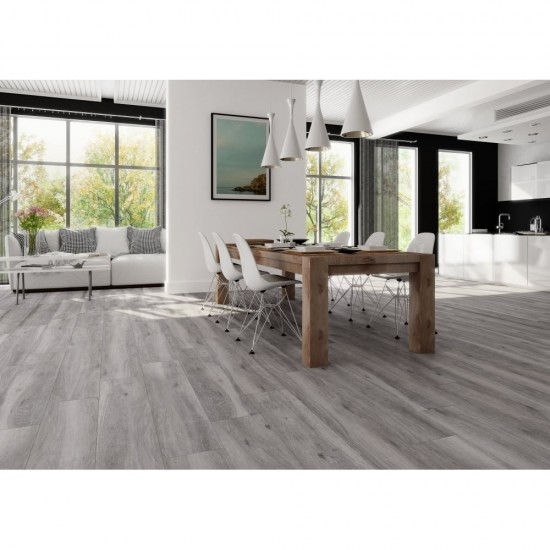 At E Leer Wood Effect Grey Gris 15.4CM X 60CM Wall And Floor Tile