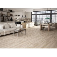 At-E-Leer Beige 15.6x60 Wood Effect Kitchen, Bathroom, Hallway And Conservatory Wall And Floor