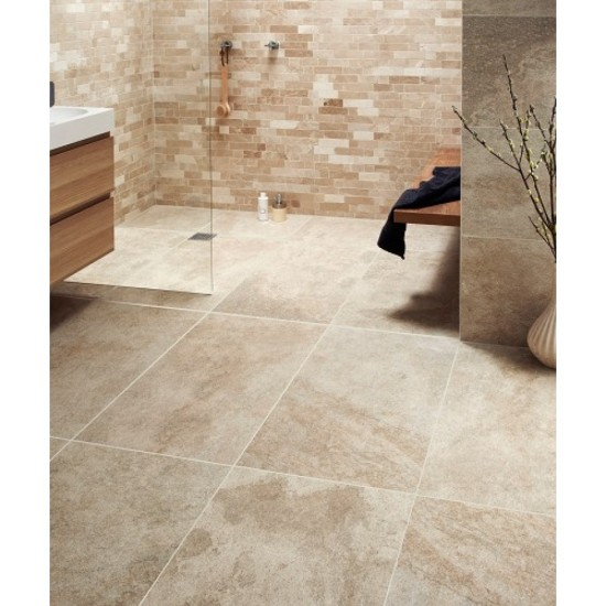 Emulated WaveStone Natural 30CMx60CM Glazed Porcelain Wall And Floor Tile