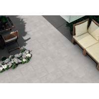Tom Glazed Porcelain 60,5x60,5 Grey Kitchen And Bathroom Wall And Floor Tile