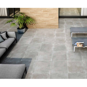 mollyera Perla Anti Slip 20mm Rectified Full Body Glazed Porcelain EveryWhere Tile 60CMx60CM