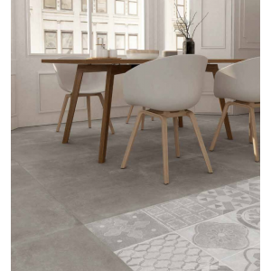 Mollyera Gris 60,5CMx60,5CM Glazed Porcelain Kitchen And Bathroom And Kitchen Wall And Floor Tile