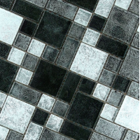 Modello Tangier Black And Silver Mosaic 30CMx30CM