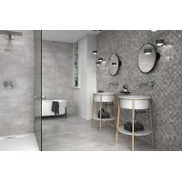 Brio Gris 45CMx90CM Wall And Floor Large Format Tile