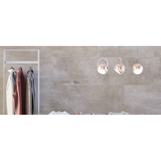 42.12m2 Pallet -Bio Taupe 45CMx90CM Wall And Floor Large Format Tile