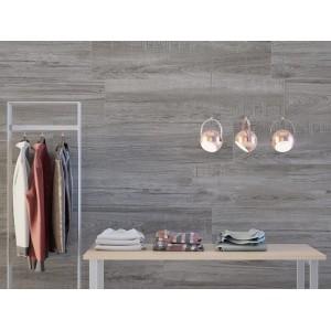 Balt Wood Effect Grey Gris 120CM X 23.2CM Wall And Floor Tile