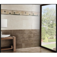 Clayte Taupe Glazed Porcelain 30CMx60CM Kitchen And Bathroom Wall And Floor Tile