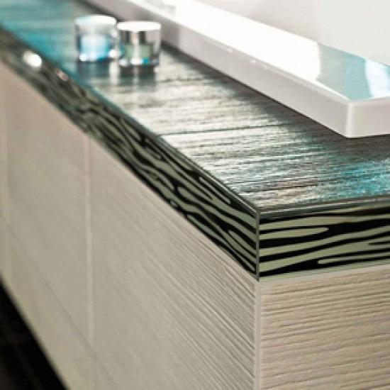 Metallic White 30CMx60CM Porcelain Kitchen And Bathroom Wall And Floor Tile