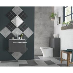 Tanner Sand Grey  Matt Porcelain 30cm x 60cm Wall Or Floor  Tiles