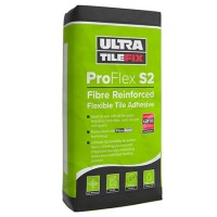 Pallet of 54 Granfix Ultra Tile Fix Pro Flex S2 Fibre Reinforced Grey Flexible Tile Adhesive