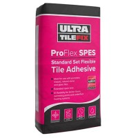 Pallet of 54 Granfix Ultra Tile Fix ProFlex SPES 20KG White Standard Set Wall And Floor Adhesive