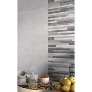 Melodie Grey 33CMx55CM Red Body Kitchen And Bathroom Wall Tile