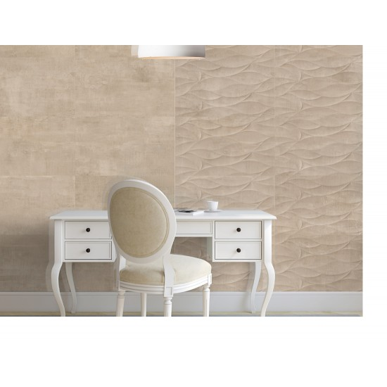 Côte Taupe 33x55 Gloss Ceramic Kitchen and Bathroom Wall Tiles