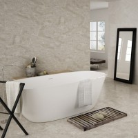 Darwin Pearla Wave Feature 20CMx50CM Kitchen And Bathroom Wall Tile