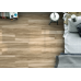 Henzo Rectified Glazed Porcelain Glossy Wood Effect Tile Blanco 22,5CMx119,5CM