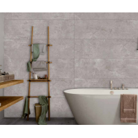 Sophisticated Perla Rectified Red Body Wall Tiles 32,6CMx120,2 Kitchen And Bathroom