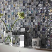 Mix Hammered Glass Mosaic Sheet 30CM x 30CM